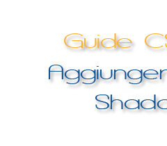 css3 guida soft shadow