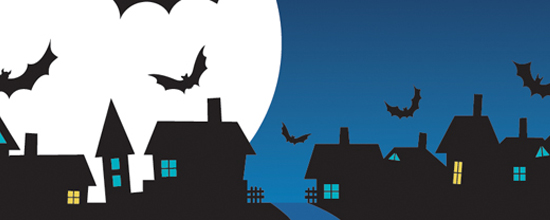 Aggiorna il tuo sito per Halloween usando lo special pack vector image di halloween di Targetweb