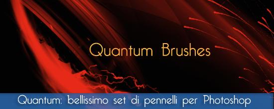"""Set pennelli photoshop e gimp: """"Quantum"""" brushes astratto per le nostre creazioni grafiche"""