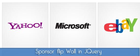 Jquery script: Sponsor flip, visualizziamo i nostri sponsor in modo dinamico e accattivante