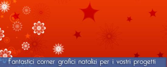 Pennelli Photoshop e GIMP ad angolo natalizi