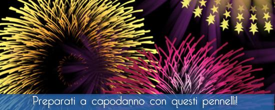 Raccolta di pennelli con fuochi d'artificio per Photoshop