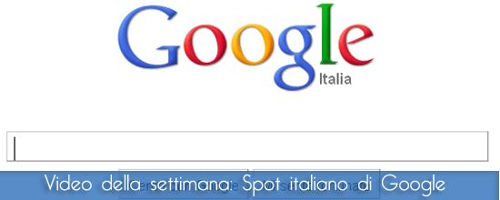 Spot italiano di Google