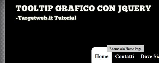 Tooltip grafico con jQuery – Guide pratiche a jQuery