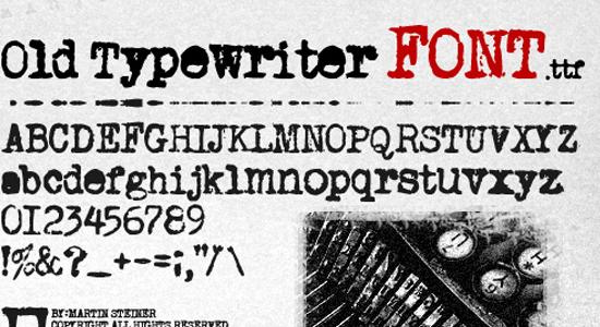 old-font
