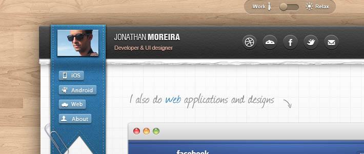 Portfolio creativo da cui trarre ispirazione: Jonathan Moreira