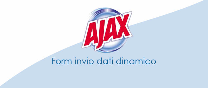 Form di invio dati via POST con Ajax