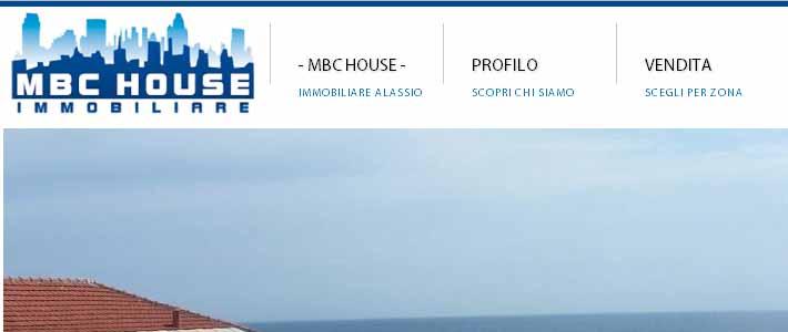 Site Inspiration agenzia immobiliare: Mbc House