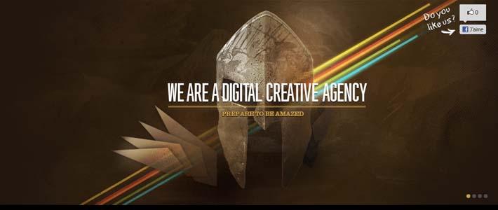 Site inspiration web agency: Epic