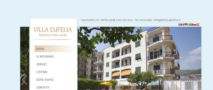 Site inspiration per residence: Eufelia