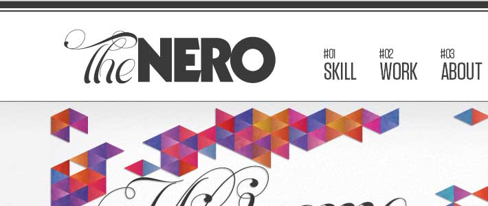 Site inspiration made in Italy: The Nero