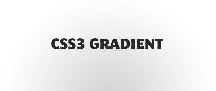 Css3 gradient: ecco come usarlo in modo corretto