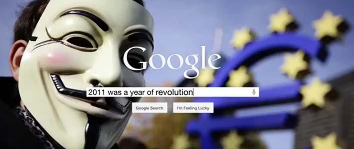 Il 2011 secondo Google