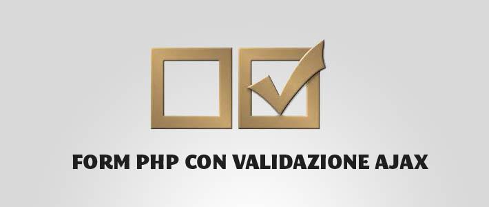 Form di contatti in PHP con antispam