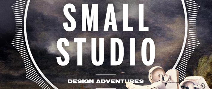 Single page website inspiration orizzontale: Small Studio