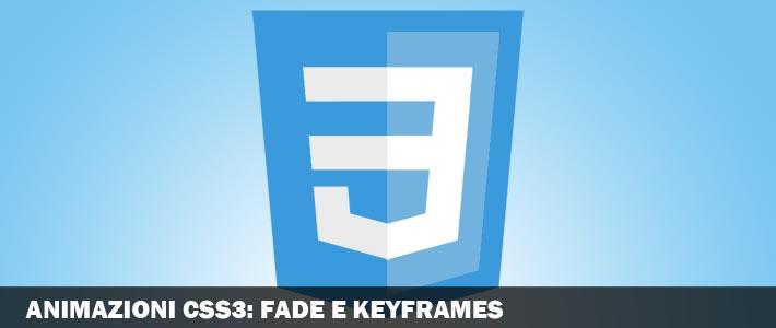 Animazioni CSS3: opacità al passaggio del mouse e keyframes