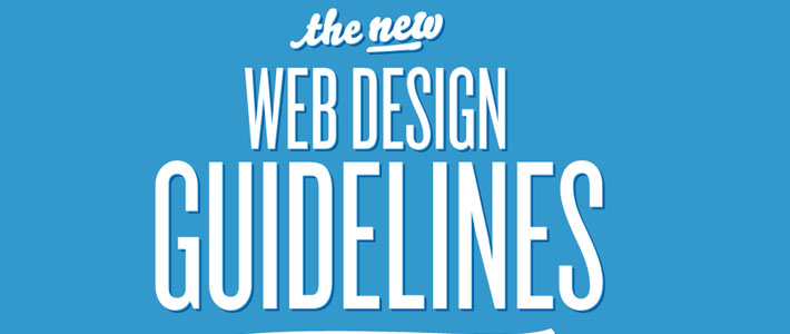 Site inspiration scroll verticale: Web Design Guidelines