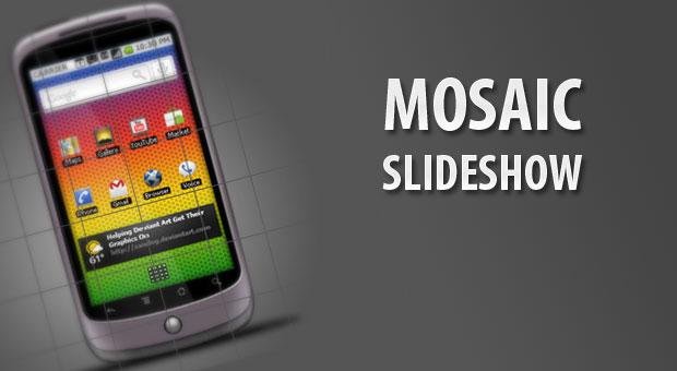 mosaic slide