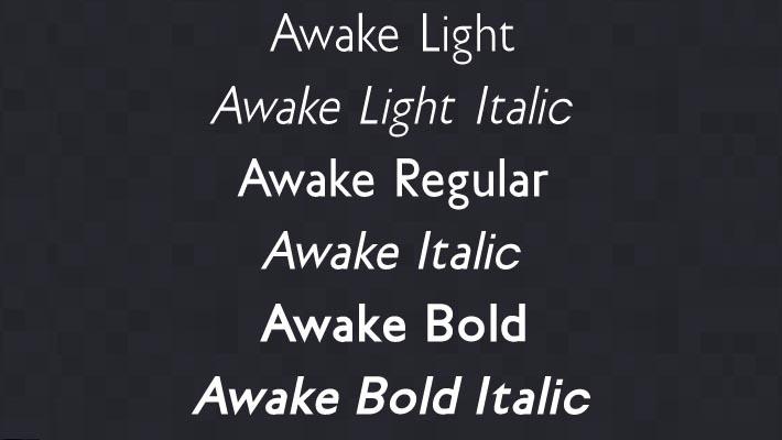 awake-font-anteprima