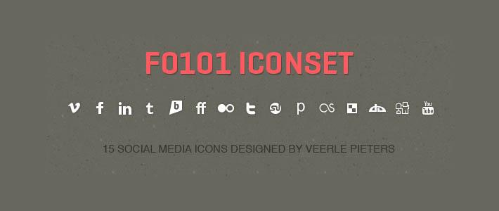 Bold social icon minimali