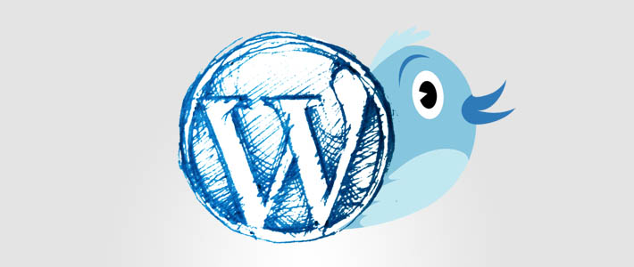 Creare un semplice Twitter Widget  plugin per wordpress
