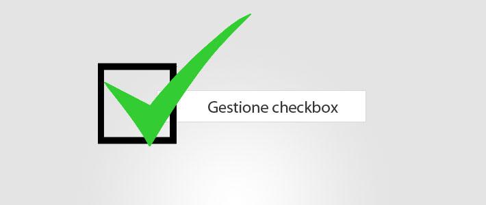 jQuery – Aprire un elemento/select cliccando su una checkbox