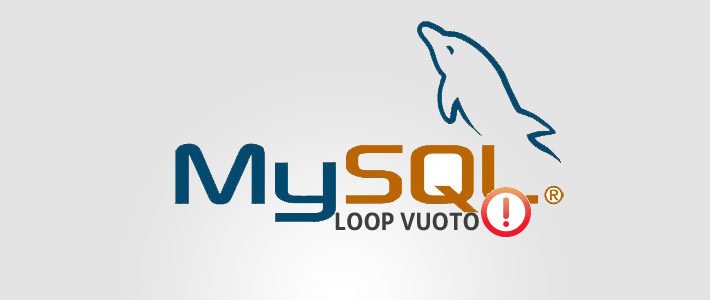 Messaggio di notifica con Loop (query) mysql Vuoto