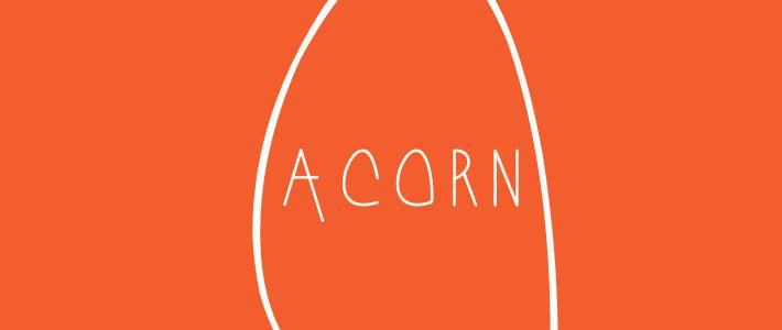 Font inspiration creativo: Acorn