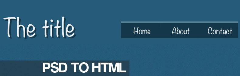 Da Photoshop ad HTML / CSS – Guida Completa