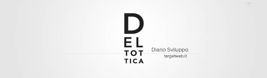 Diario di Sviluppo: Deltottica Ecommerce Website