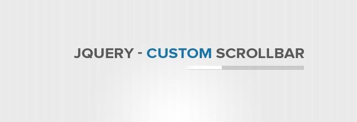Come personalizzare la scrollbar del proprio sito con jQuery
