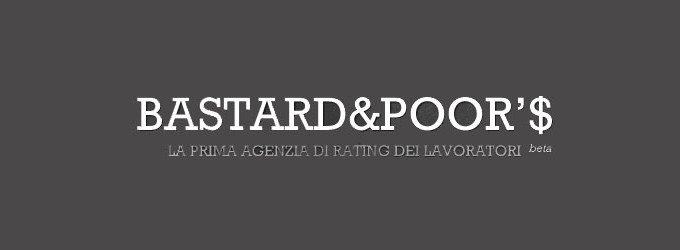 rating-del-lavoro-in-italia-bastard-and-poors