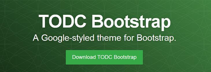 Bootstrap: un tema per renderlo in perfetto stile Google
