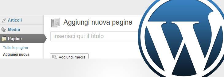 WordPress: creare template di pagina custom