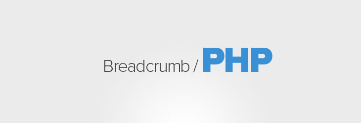 Come realizzare un semplice breadcrumb PHP