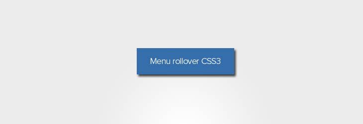 Effetto rollover e animazione menu con i CSS3