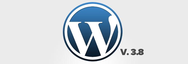 Novità in WordPress 3.8