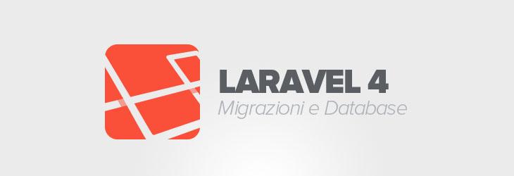 Migrazioni e database in Laravel 4 – Guida Laravel 4