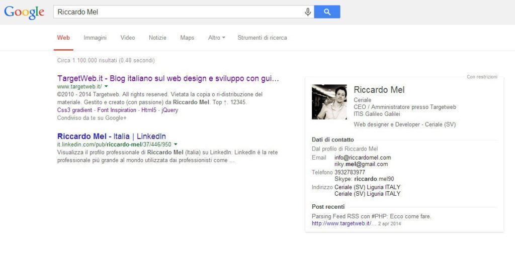 RiccardoMel-SocialSearch
