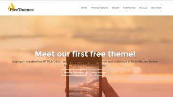 Temi html5 e WordPress free – nasce il progetto firethemes.net!