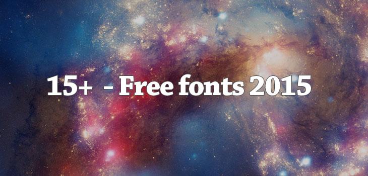 15 nuovi font creativi per il tuo prossimo sito web o progetto