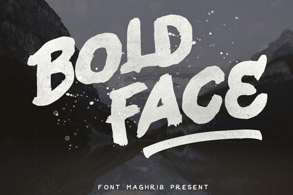 bold-face
