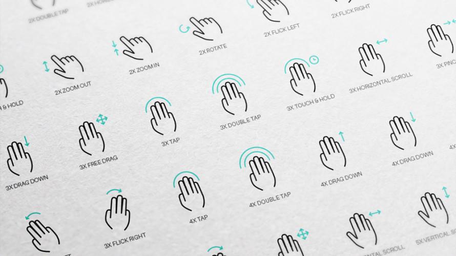 """Icone """"gesture"""" vettoriali gratuite"""
