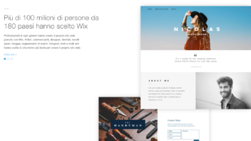 """Wix lancia il nuovo tool """"Wix ADI"""" per creare siti personali con un solo click"""